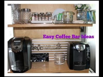 Home Tour   Coffee Bar Ideas