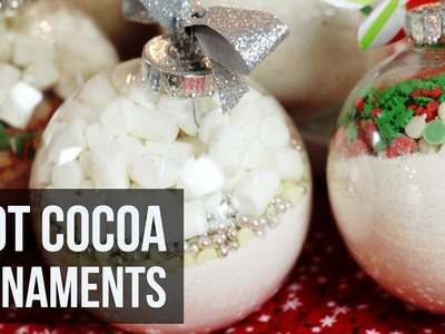 Hot Cocoa Ornaments   Easy DIY Christmas Craft & Recipe by Forkly