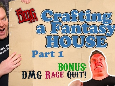 How to craft a fantasy house for dungeons and dragons games - part 1? DMG#125