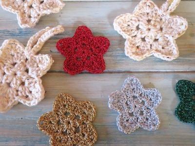 How to Crochet my Flower Star