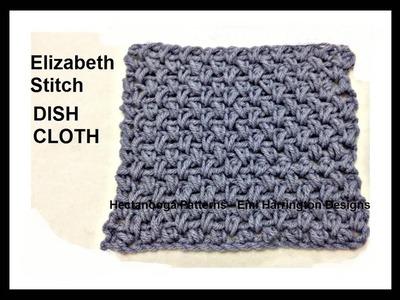 How to crochet the ELIZABETH STITCH mini bean stitch
