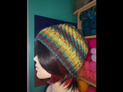 How to knit a hat for the entire family