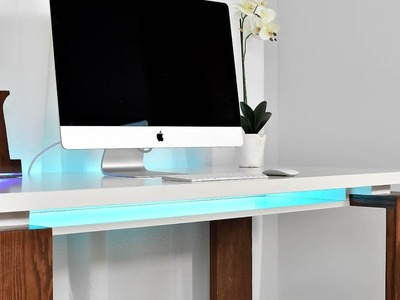 How To Make A Clean Modern Desk | Office, Gaming