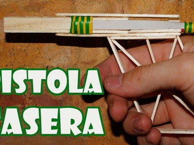 How to make a gun with popsicle sticks Easy Homemade Weapons