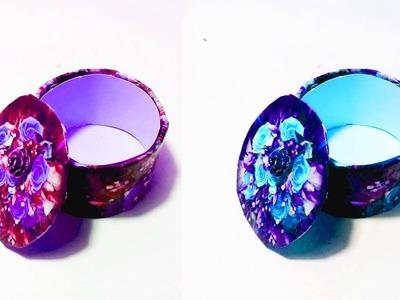 How To Make Jewellery Box || DIY Jewellery Box Tutorial || Crafts Design