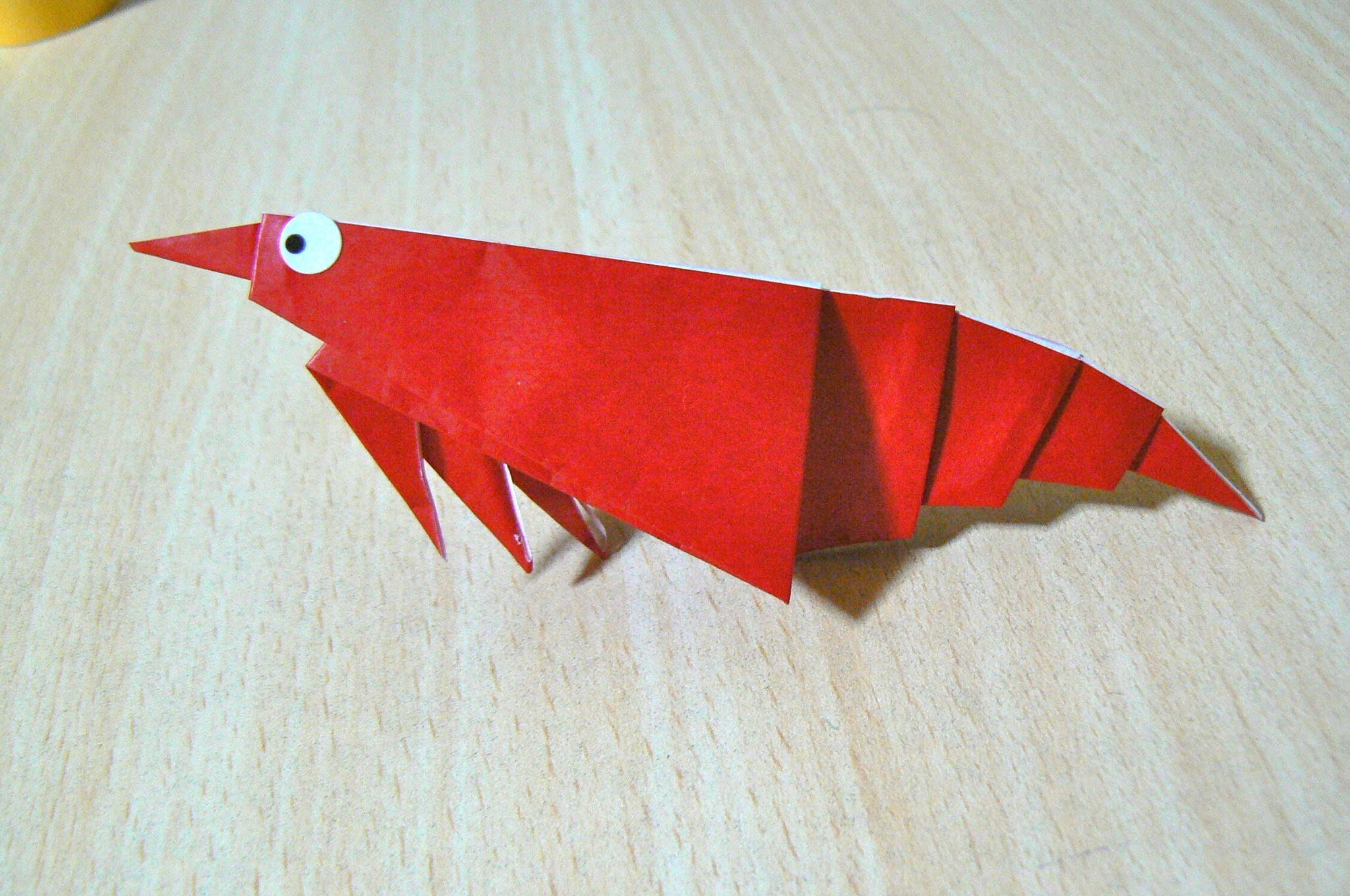 How To Make Shrimp Origami The Art Of Folding Paper