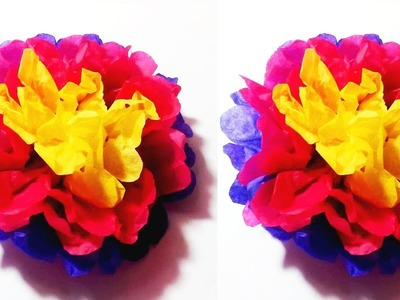 Craft tutorial easy flower making at home simple and easy diy how to make simple paper flower diy simple paper flower mightylinksfo