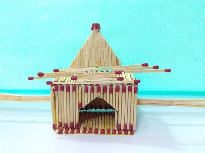 Matchstick Doli Palanquin From Matches