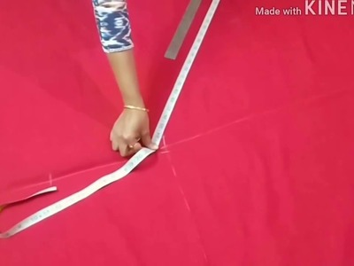 Narrow Salwar Cutting Step by Step Tutorial  in Hindi. DIY. Sara
