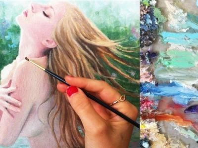 Oil Painting | Timelapse | Escape