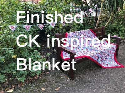 Ophelia Talks about Crocheting a CK inspired blanket