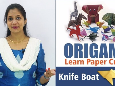 Origami Knife Boat  || Origami for Kids || Live Teaching Origami Paper Craft || Gujarati  Video