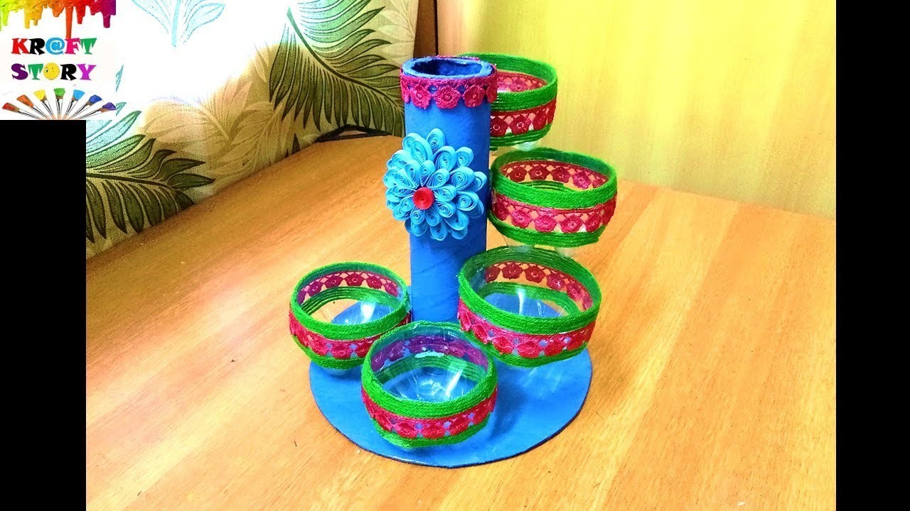 Plastic bottle craft plastic bottle organizer best out for Waste in best craft videos