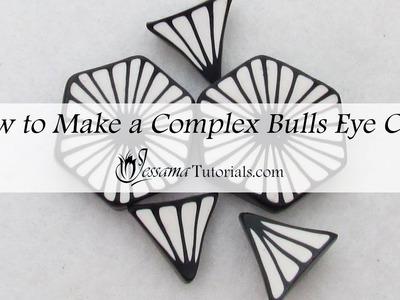 Polymer Clay Complex Bulls Eye Petal Cane Tutorial
