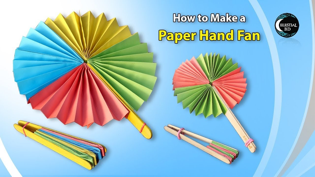 Craft Ideas In Paper Folding To Make For A Show