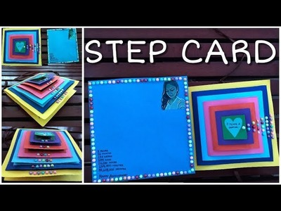 Step Card. Maze Card - Handmade Craft for Birthday. Valentine. Anniversary -by: kreative khidki