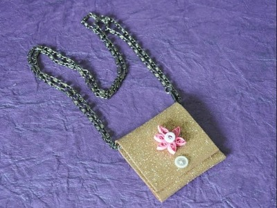 Stylish and trendy modern purse with foam sheet SSC Arts 215