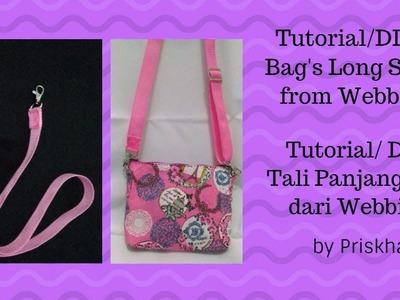 Tali Panjang Tas DIY.Tutorial (Bag's Long Strap DIY.Tutorial)