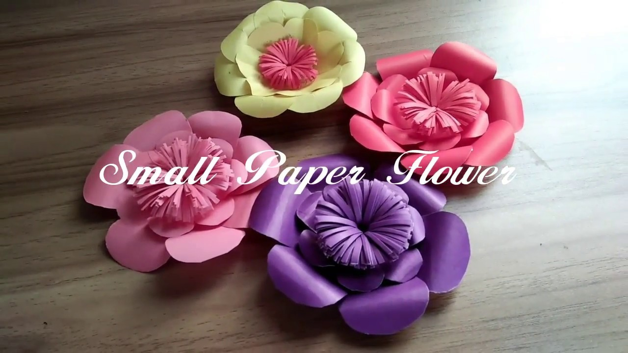 all paper flowerdiy crafts flower craft small paper flowerdiy crafts flower craftpaper flower how to make by paper flowers mightylinksfo
