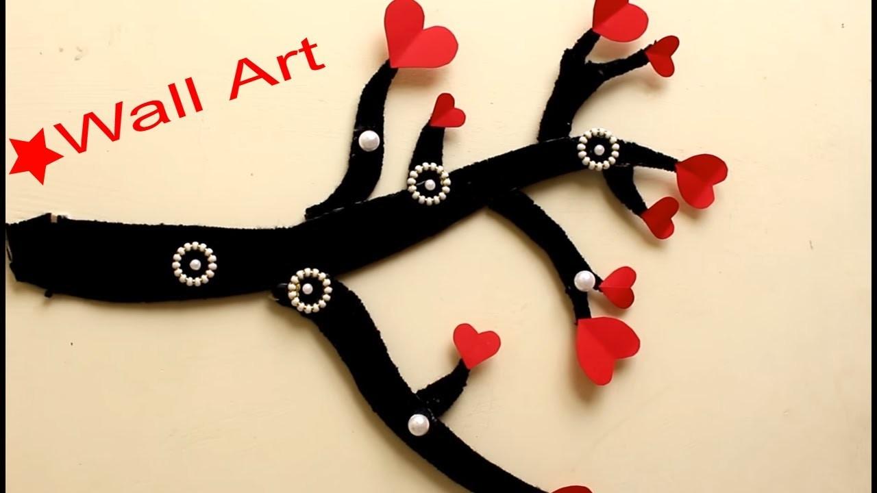Wall Art ???? tree branch???????? Wall decoration Idea????????