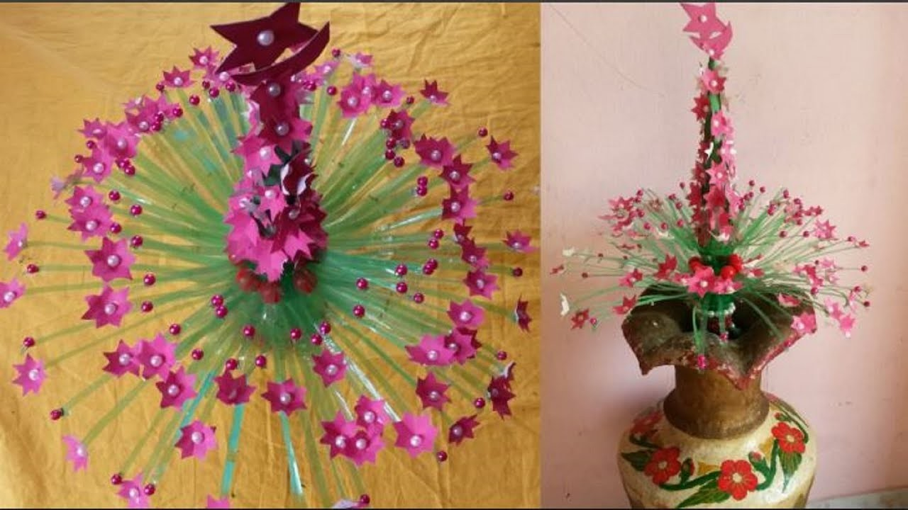 Waste bottle craft best out of waste plastic bottle for Crafts made from plastic bottles