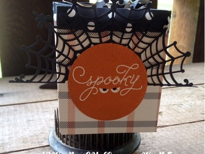 12 Weeks Halloween 2015 Week 5 Gift Bag with Stampin' Up! Among the Branches