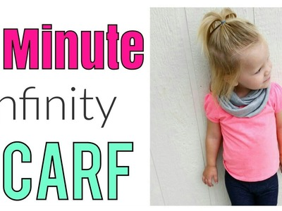 5 MINUTE INFINITY SCARF TUTORIAL | DIY INFINITY SCARF | HOW TO SEW AN INFINITY SCARF
