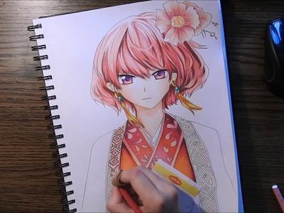 Akatsuki no Yona -- Speed Color Drawing