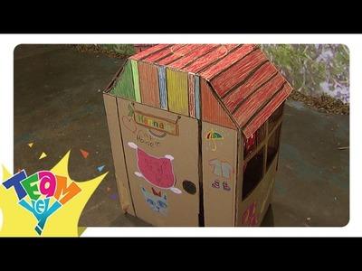 Artstig: Cardboard Doll House   Team Yey