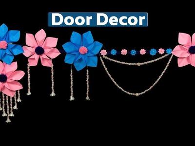 Beautiful Door Hanging Using Paper on Budget | DIY Wall Hanging | Door Decor for Christmas