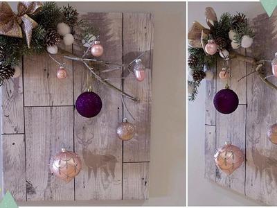 Christmas 2017 DIY - 3D Wall Art