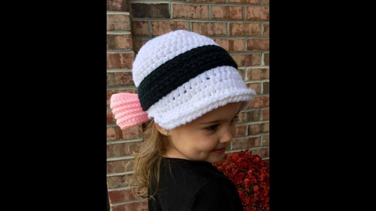 Crochet children's hats 2017