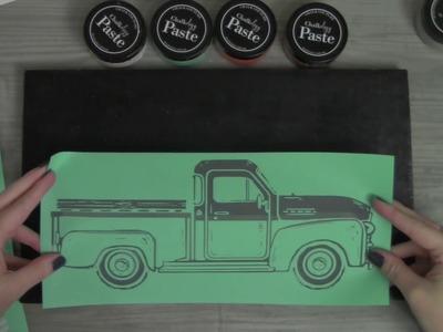 Day 2 Vintage Truck Christmas Tree Farm Easy DIY Decor