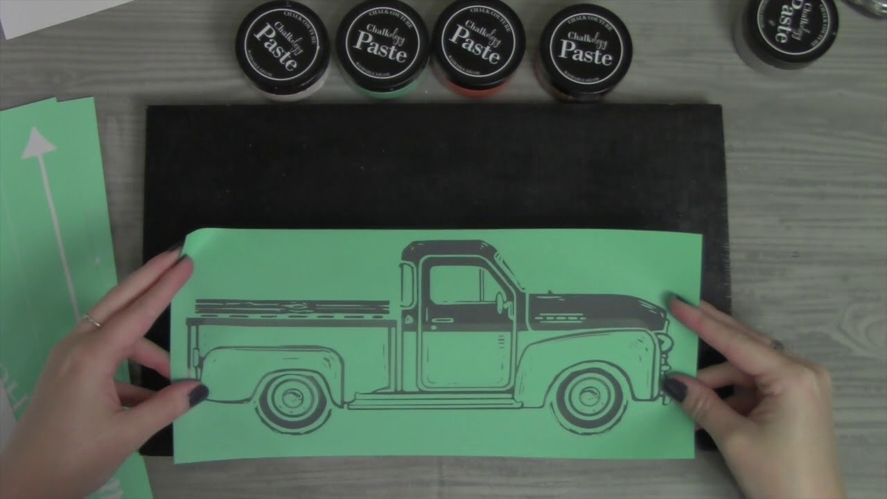 Day 2 Vintage Truck Christmas Tree Farm Easy DIY Decor