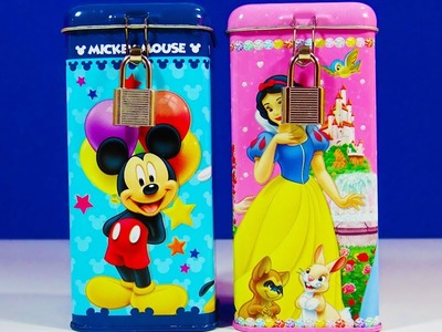 Disney Princess Mickey Coin Bank Hatchimals CollEGGtibles Shopkins Gift Boxes Tinker Bell