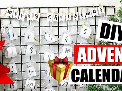 DIY ADVENT CALENDAR FOR CHRISTMAS | 25 DIYs of Christmas Day 1