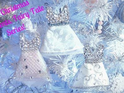 DIY Christmas Tree Ornaments, Fairy Tale Series 1, Super Cute!