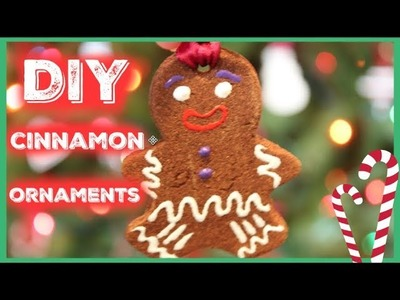 DIY Cinnamon Dough Ornaments
