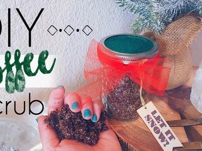 DIY COFFEE SCRUB | How To make a Coffee Body Scrub Exfoliator!! | Kait Nichole