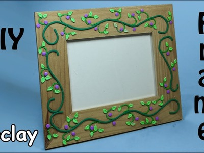 DIY Frame decoration- Easy Polymer clay tutorial