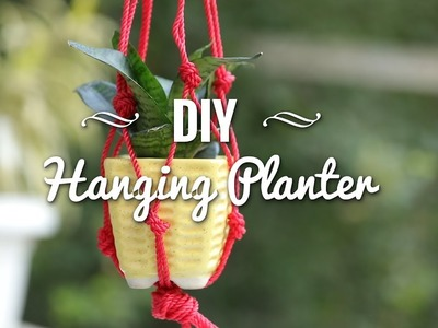 DIY Hanging Planter - POPxo