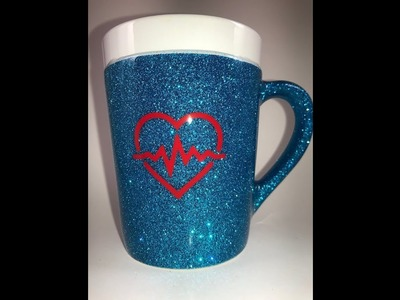 DIY: How to Glitter a Coffee Mug