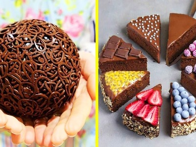 DIY How To Make Chocolate Cakes | Chocolate Cake Decorating Tutorial #36 | Satisfying Cake Video