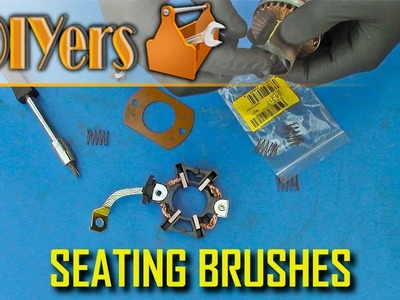 DIY: How to Seat Brushes in a Motor