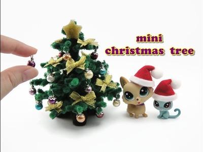 DIY Miniature Doll Mini Christmas Tree