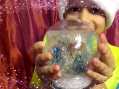 DIY SNOW GLOBE WITH BABY OIL EASY AND FUN