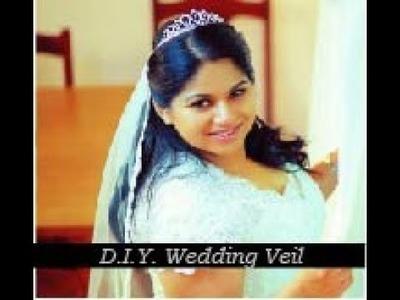 DIY Wedding Veil Tutorial (Cheap and Easy!)