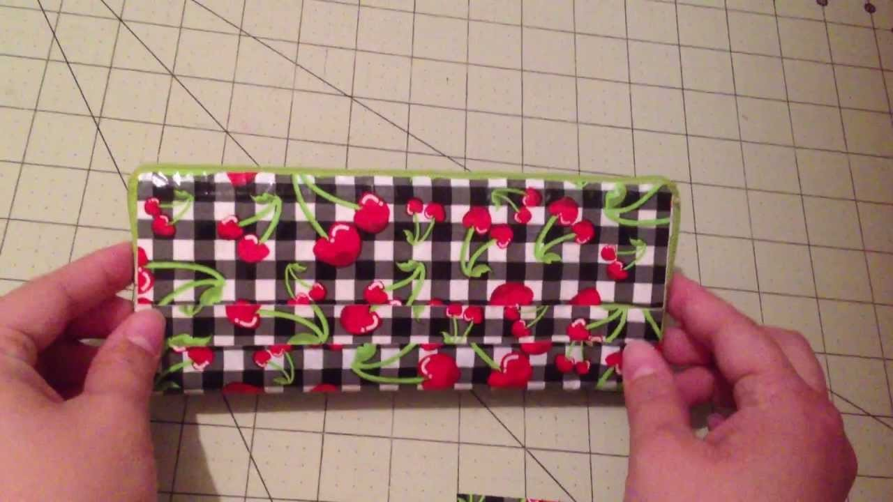 duct duct tape womans wallet new design with zipper