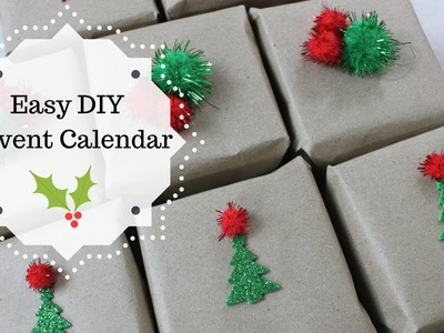 Easy and Affordable DIY Advent Calendar Using Dollar Tree Items