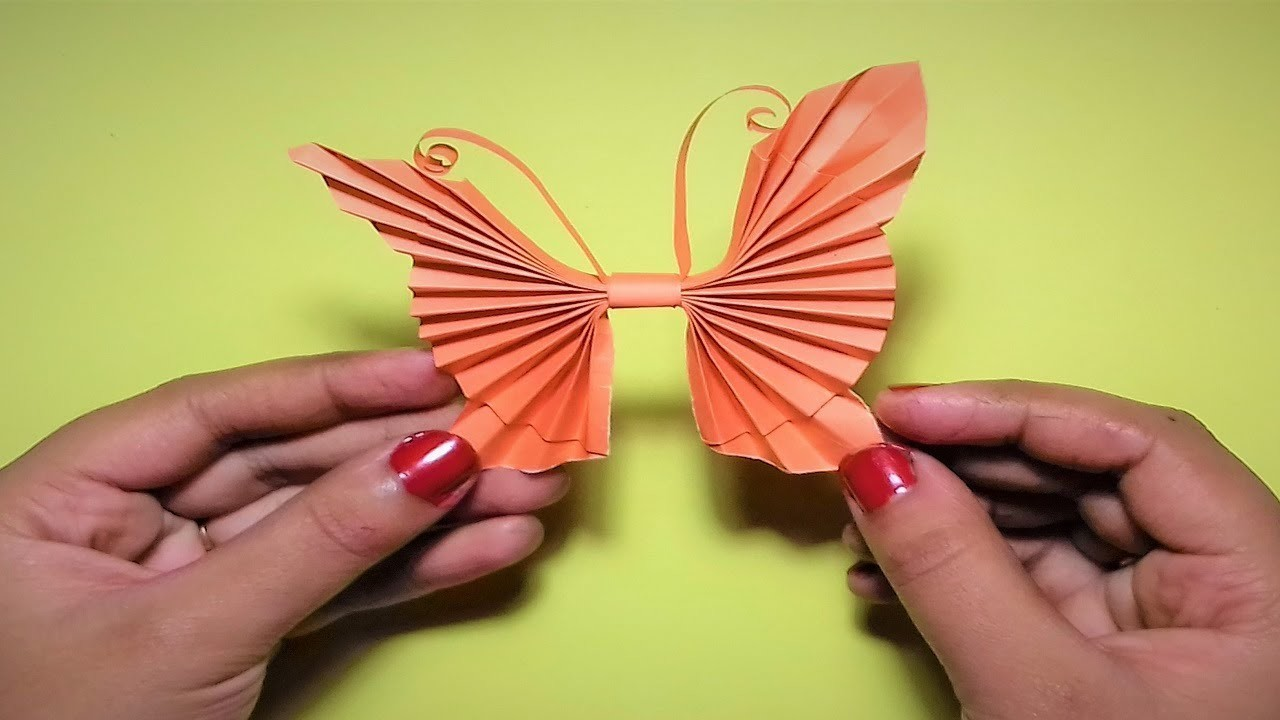 Attractive Paper Butterfly Wall Art Image - Wall Art Collections ...